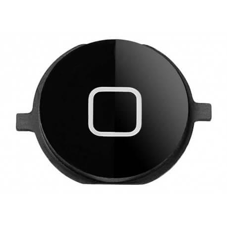 Εξωτερικό Κεντρικό Πλήκτρο Apple iPhone 4S Μαύρο Original