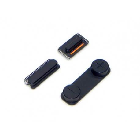 Σέτ Πλήκτρων Apple iPhone 5 Μαύρο Original