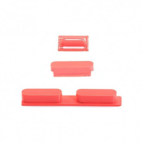 Σέτ Πλήκτρων Apple iPhone 5C Ρόζ Original