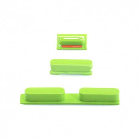 Σέτ Πλήκτρων Apple iPhone 5C Πράσινο Original