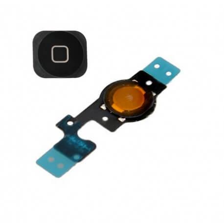 Σέτ Κεντρικού Πλήκτρου Apple iPhone 5C Μαύρο Original