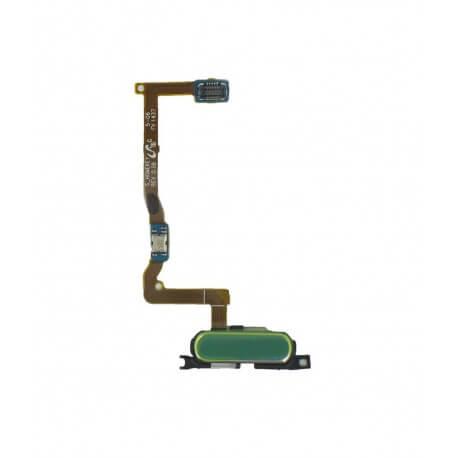 Σέτ Κεντρικού Πλήκτρου Samsung SM-G850F Galaxy Alpha Χρυσαφί Original GH96-07489D