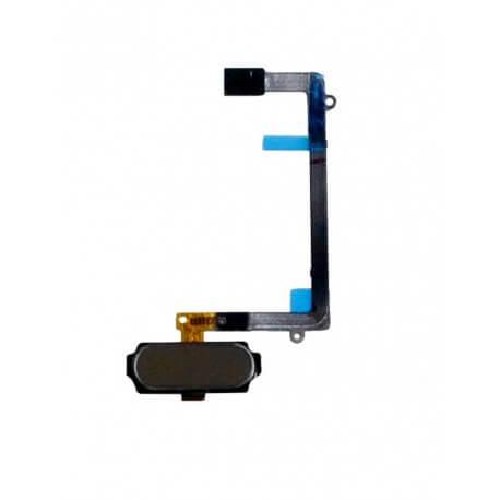 Σέτ Κεντρικού Πλήκτρου Samsung SM-G925F Galaxy S6 Edge Χρυσαφί Original GH96-08253C