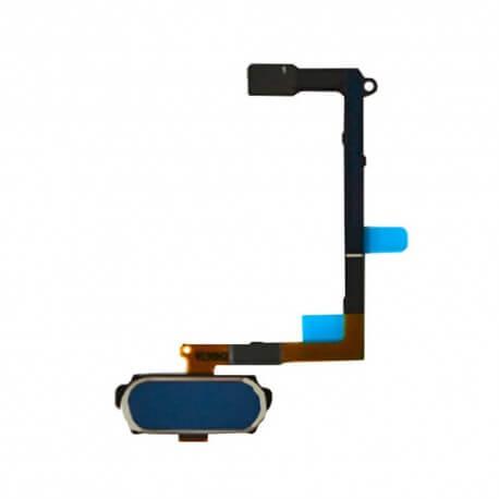 Σέτ Κεντρικού Πλήκτρου Samsung SM-G920F Galaxy S6 Μπλέ Original GH96-08166D