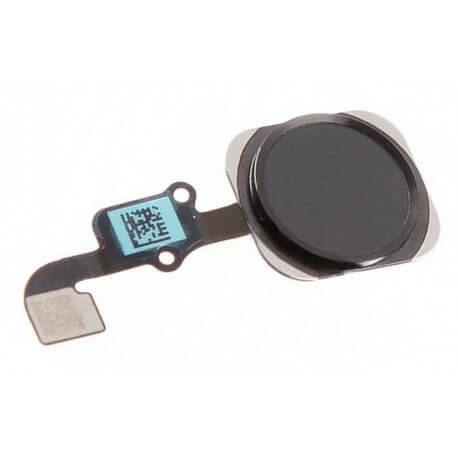 Σέτ Κεντρικού Πλήκτρου Apple iPhone 6S/6S Plus Μαύρο