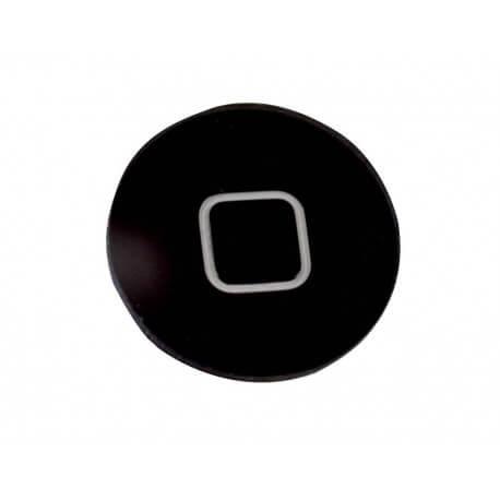 Εξωτερικό Κεντρικό Πλήκτρο Apple iPhone 5C Μαύρο Original