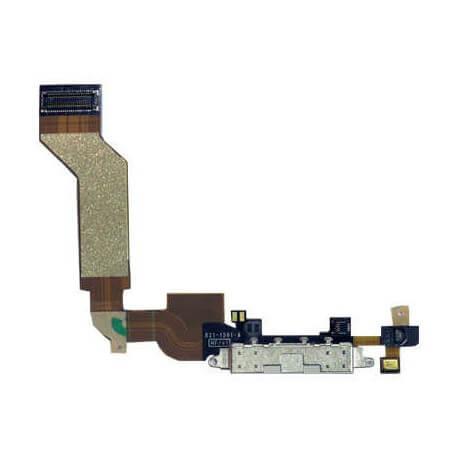 Επαφή Φόρτισης Apple iPhone 4S με Μικρόφωνο Μαύρο Original