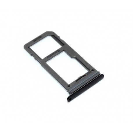 Βάση Κάρτας Sim Samsung SM-G950F Galaxy S8 Μαύρο Original GH98-41131A