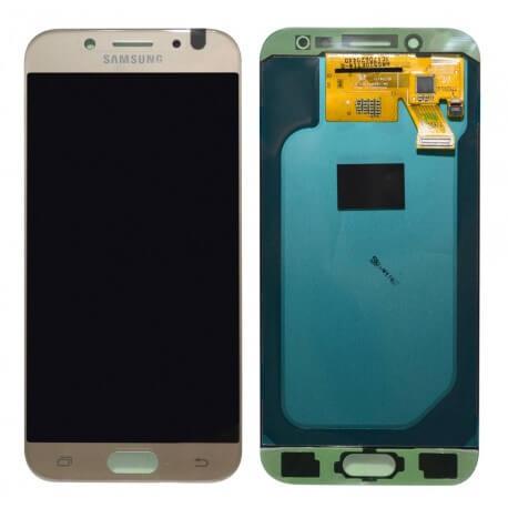 Γνήσια Οθόνη & Μηχανισμός Αφής Samsung SM-J530F Galaxy J5 (2017) Χρυσαφί GH97-20738C