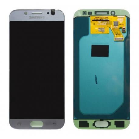 Γνήσια Οθόνη & Μηχανισμός Αφής Samsung SM-J530F Galaxy J5 (2017) Ασημί GH97-20738B