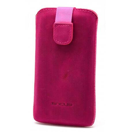 Θήκη Protect Ancus για Samsung i9505/i9500 Galaxy S4 Δέρμα Φούξια