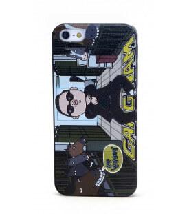 Θήκη Faceplate για Apple iPhone SE/5/5S Gangnam Style Μαύρη