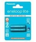 Μπαταρία Επαναφορτιζόμενη Panasonic eneloop lite BK-4LCCE/2BE 550 mAh size AAA Ni-MH 1.2V Τεμ. 2