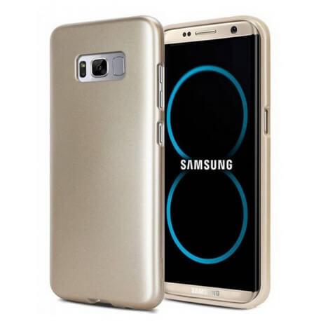 Θήκη Goospery iJelly για Samsung SM-G955F Galaxy S8+ Χρυσαφί by Mercury