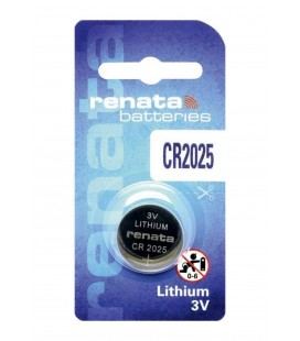 Buttoncell Lithium Electronics Renata CR2025 Τεμ. 1