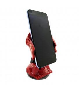 Βάση Στήριξης Αυτοκινήτου 360° Universal Car Κόκκινο-Μαύρο για Smartphone 3'' έως 6'' Ίντσες
