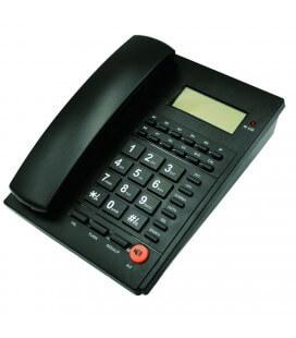 Σταθερό Ψηφιακό Τηλέφωνο Noozy Phinea N37 Μαύρο