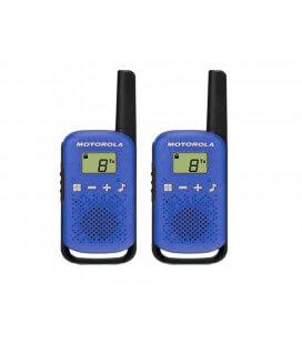 Walkie Talkie Motorola Go Live PMR T42 Μπλε. Εύρος Κάλυψης 4 km