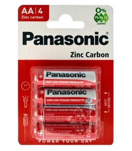 Μπαταρία Zinc Carbon Panasonic LR6 size AA 1.5 V Τεμ, 4
