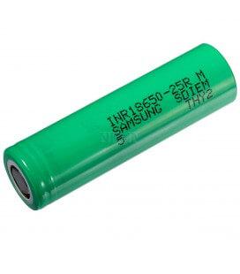 Επαναφορτιζόμενη Μπαταρία Βιομηχανικού Τύπου Samsung 18650 INR18650-25R  Li-ion 3.7V 2500mAh 30A