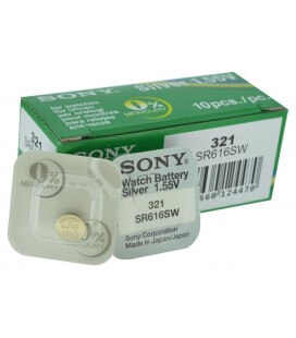 Buttoncell Sony 321 SR616SW Τεμ. 1