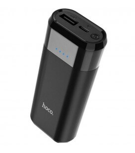 Power Bank Hoco B35A Entourage Mobile 5200 mAh με υποδοχή Micro-USB Μαύρο