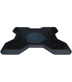 """Laptop Cooler Mobilis 5218 Μαύρο για Φορητούς Υπολογιστές έως 14"""""""