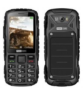 "Maxcom MM920 2.8"" Water-dust proof IP67 με Φακό, Ραδιόφωνο (Λειτουργεί χωρίς Handsfree) και Κάμερα Μαύρο"
