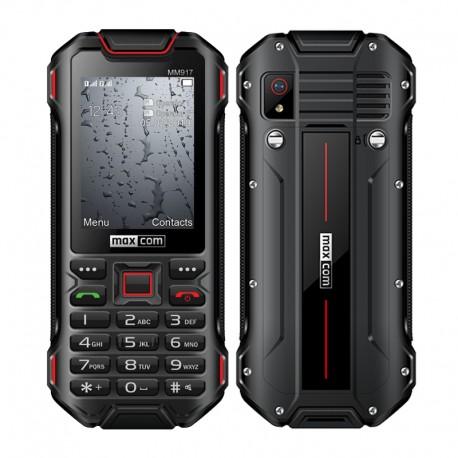 "Maxcom Strong MM917 3G (Dual Sim) 2.4"" Water-dust proof IP68 με Bluetooth, Φακό, Ραδιόφωνο και Κάμερα Μαύρο"