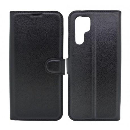 Θήκη Book Ancus Teneo για Huawei P30 Pro TPU Μαύρη