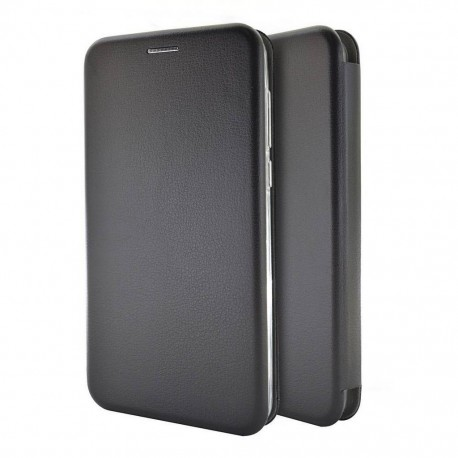 Θήκη Book Ancus Magnetic Curve για Samsung SM-A750 Galaxy A7 (2018) TPU Μαύρη