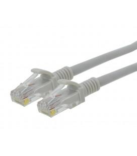 Καλώδιο Δικτύου Jasper Cat 6 UTP 0.5m Γκρί Patch Cord