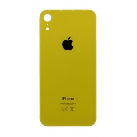 Πίσω Κάλυμμα Apple iPhone XR Κίτρινο χωρίς Τζαμάκι Κάμερας
