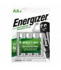 Μπαταρία Επαναφορτιζόμενη Energizer ACCU Recharge Power Plus 2000 mAh size AA 1.2V Τεμ. 4