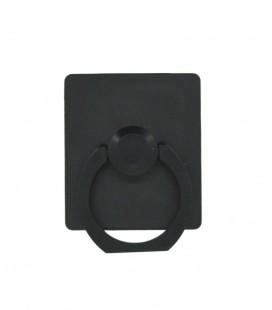 Βάση Στήριξης Γραφείου 360° Rotating Ring Πλαστικό για Κινητά Τηλέφωνα Μαύρο 3.5 x 4 cm