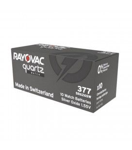 Buttoncell Rayonac 377 SR626SW Τεμ. 1