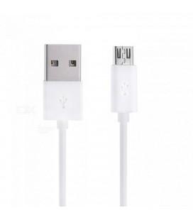 Καλώδιο σύνδεσης Ancus USB AM σε Micro USB B Λευκό 20 cm