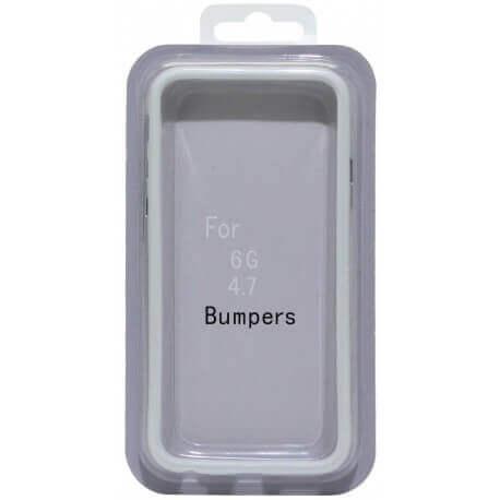 Θήκη Bumper Ancus για Apple iPhone 6/6S Λευκή