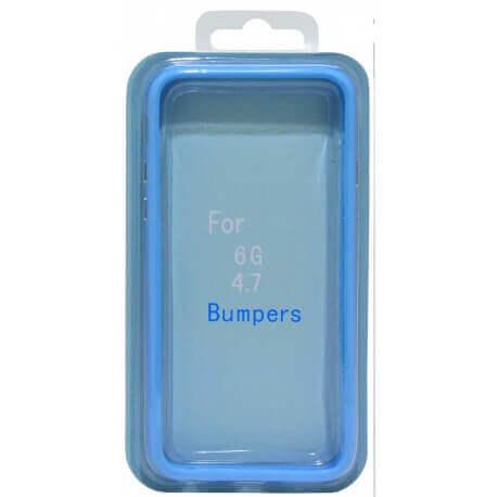 Θήκη Bumper Ancus για Apple iPhone 6/6S Μπλέ