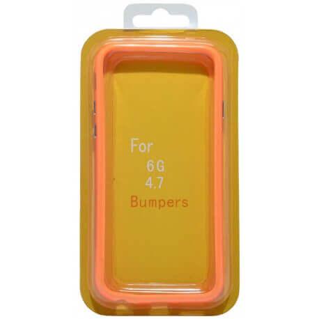 Θήκη Bumper Ancus για Apple iPhone 6/6S Πορτοκαλί