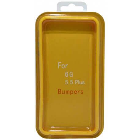 Θήκη Bumper Ancus για Apple iPhone 6 Plus/6S Plus Κίτρινο