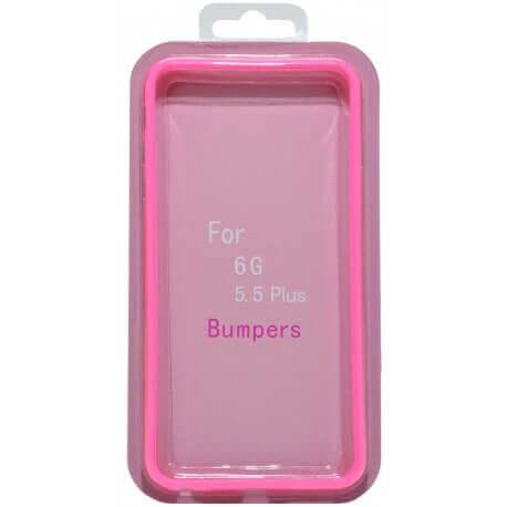 Θήκη Bumper Ancus για Apple iPhone 6 Plus/6S Plus Ρόζ