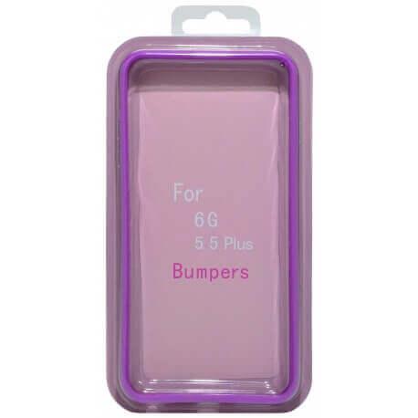 Θήκη Bumper Ancus για Apple iPhone 6 Plus/6S Plus Μώβ