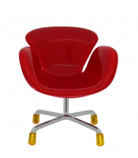 Βάση Στήριξης Κινητού Τηλεφώνου Armchair Mini Universal Κόκκινο
