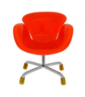 Βάση Στήριξης Κινητού Τηλεφώνου Armchair Mini Universal Πορτοκαλί