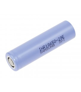 Επαναφορτιζόμενη Μπαταρία Βιομηχανικού Τύπου Samsung 18650 INR18650-29E  Li-ion 4.2V 2900mAh