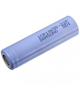 Επαναφορτιζόμενη Μπαταρία Βιομηχανικού Τύπου Samsung 18650 ICR18650-22P Li-ion 4.2V 2150mAh