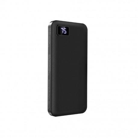 Power Bank Borofone BT22 Intelligent 10000mAh Micro USB Input & Dual USB 5V/2A Output Fast Charging και ένδειξη LED Μαύρο