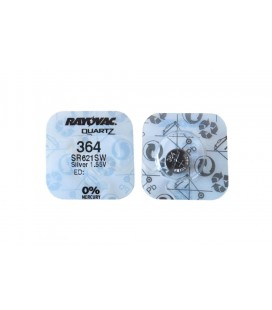 Buttoncell Rayovac 364-363 SR621SW Τεμ. 1