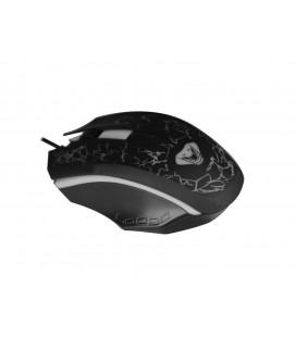 Ενσύρματο Ποντίκι Media-Tech COBRA PRO X-LIGHT MT1117 3 Πλήκτρων, Ροδέλα Κύλισης και Εναλλασσόμενο Φωτισμό Μαύρο